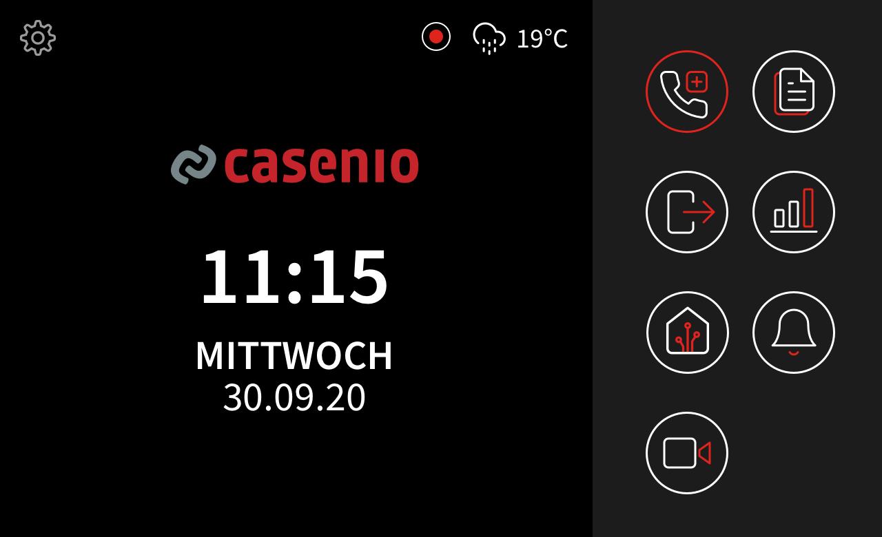 casenio Home Luftgütewarnung